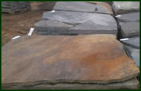 Arkansas Blue Brown Flagstone